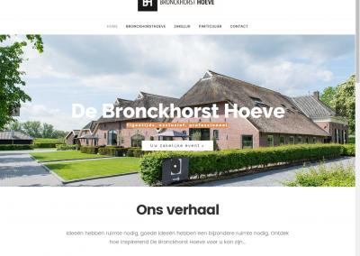 Website -De Bronckhorst Hoeve