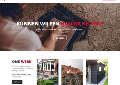 Website – Schotsman Timmerwerken